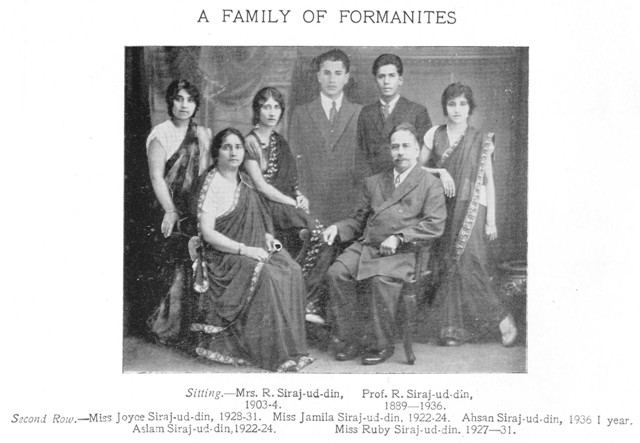 a family of formanites web