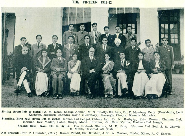 1941-42 the fifteen