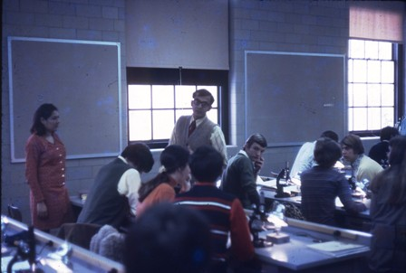 1971 Teaching at Miami University, Oxford, Ohio