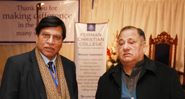 Chaudhry Ahmad Saeed with the author January 2012