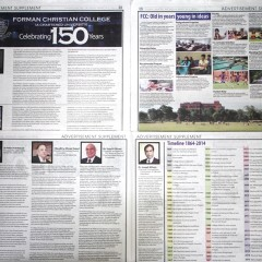 FCC 150th Anniversary Supplement in Dawn