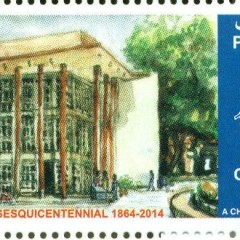 Pakistan Post issues stamp commemorating FCC's 150th anniversary